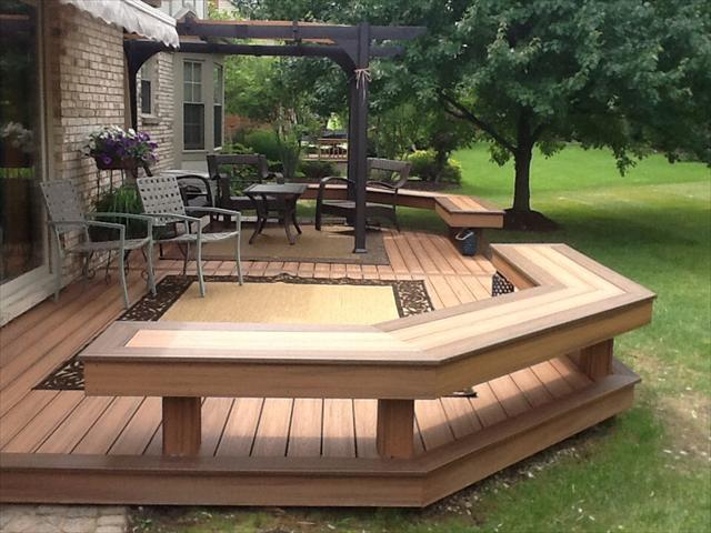 West bloomfield michigan deck cleaning restoration repair for Composite decking comparison