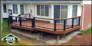 "Supreme Deck building division specializes in construction of wood, Trex, Timbertech and Fiberon composite decks. Supreme Deck is a top rated TrexPro Platinum installer. Click here for a deck building estimate from Supreme Deck Builders in Michigan. Supreme Deck is a licensed and insured Michigan deck builder. Deck replacement or ""re-deck"" and is becoming a popular option with many Michigan home owners. It is a less expensive option than a complete build, because we can use the under-structure of your current deck. Cedar deck floors usually rot out first, thus requiring a new floor. Looking for a ""deck builder near me""? We service most of South East Michigan."