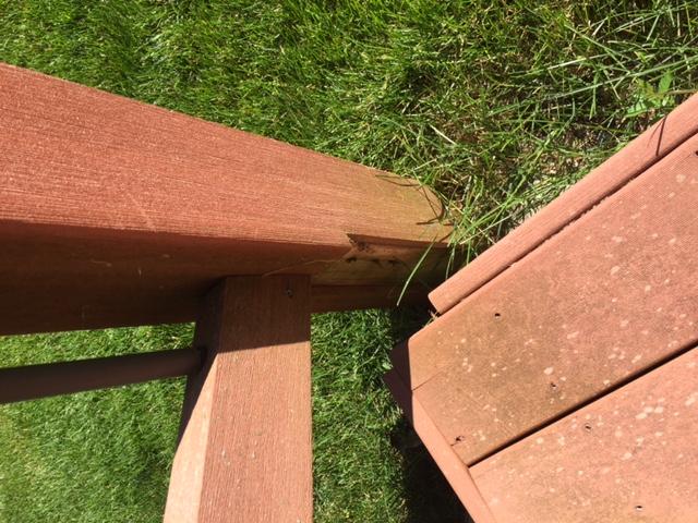 composite deck repair